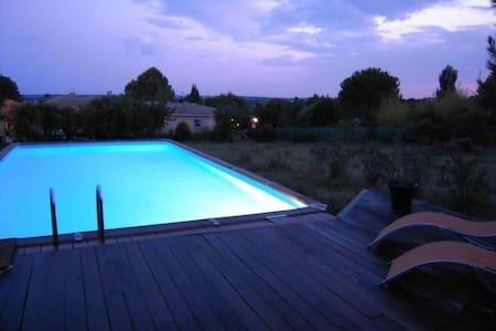 Maison ancienne avec piscine  - Aspères - 獨棟