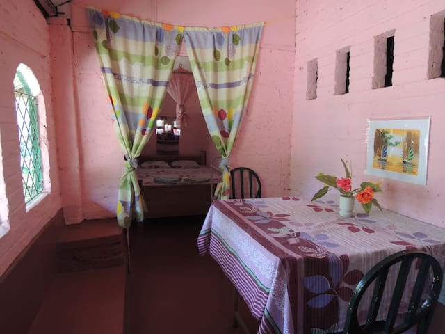 Pink Room - with extra long bed!