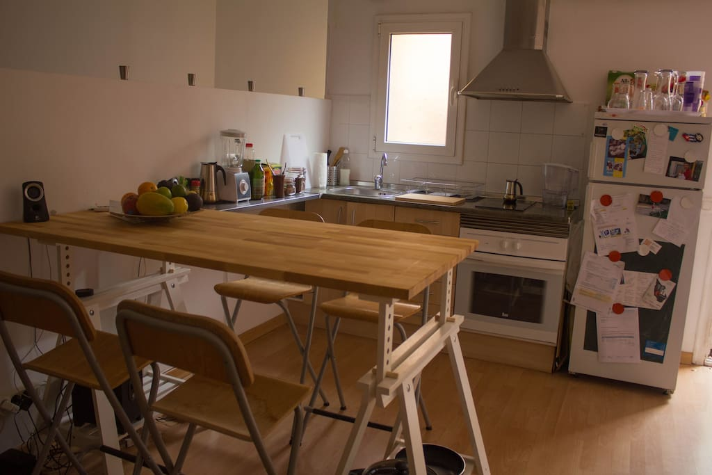 American Style kitchen fully equipped