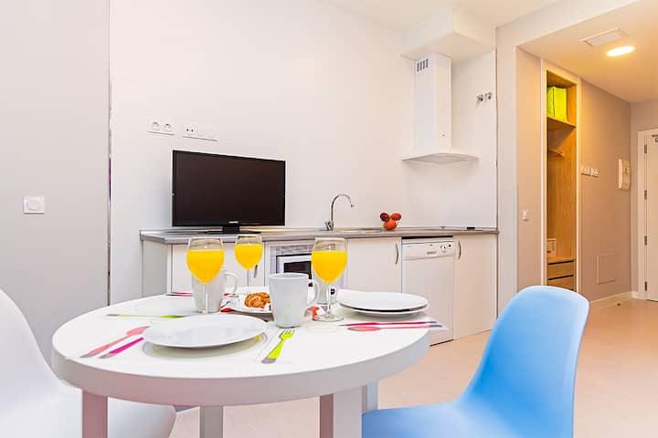 Apartamento tranquilo en pleno Centro de Madrid