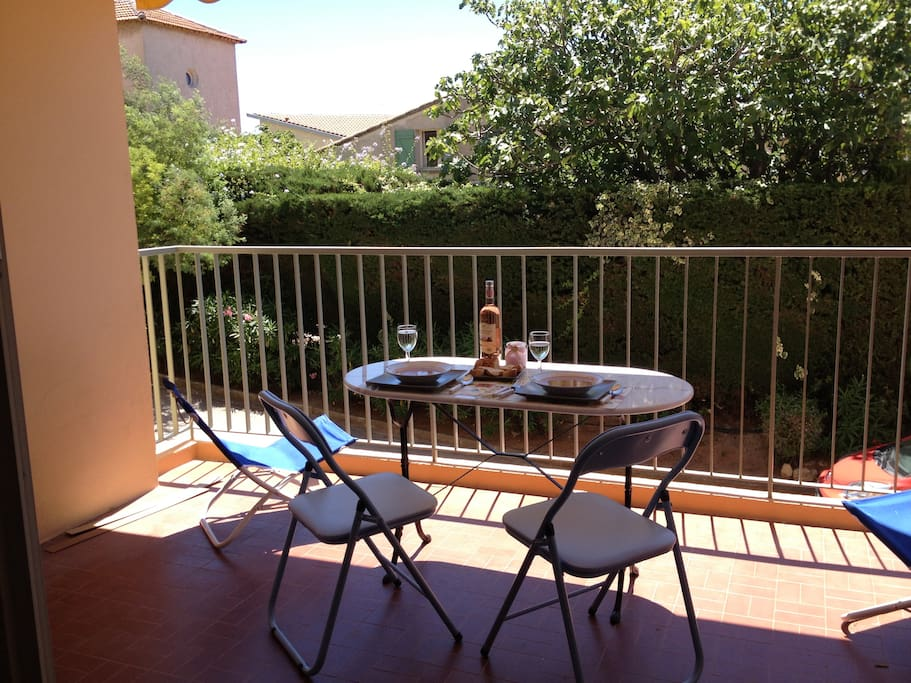 Large Patio for Dining or lounging