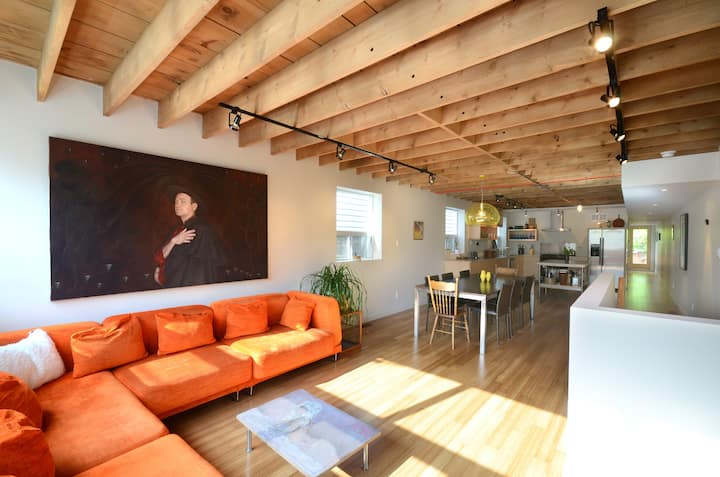 Loft Bedroom in Modern Home