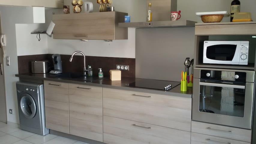 appt T2, 51m² en centre ville - Aurillac - Apartment
