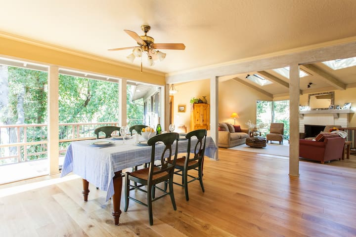 Charming Tree House near Palo Alto  - Woodside - Dom