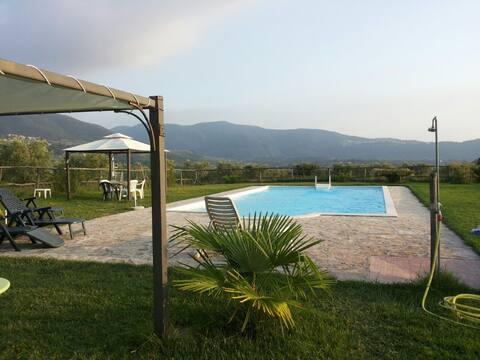 Casale Ferronio - La Vite Apartment with  pool