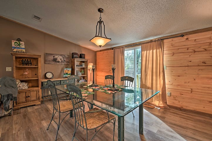 NEW! Pet Friendly & Peaceful Silver Springs Home!