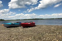 Ask us about adding kayaks to your reservation. We have everything you need onsite (for two) to explore the surrounding waterways.