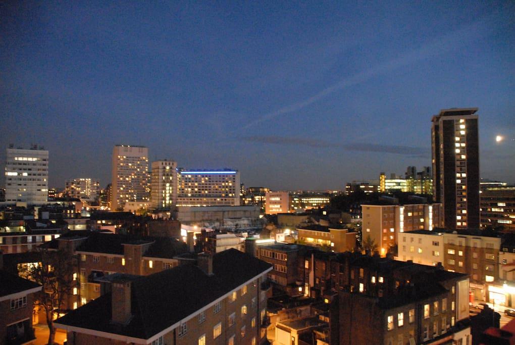Night time views.
