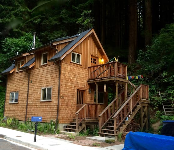 The Little House in the Redwoods - Arcata - Huis