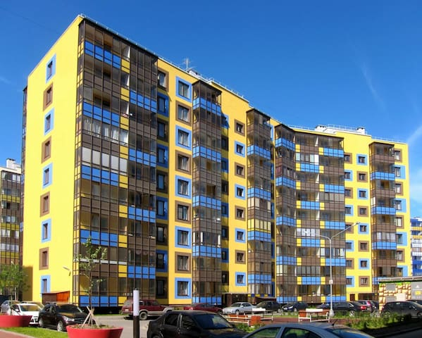 Стильная и уютная квартира в Кудрово! - Kudrovo - Byt
