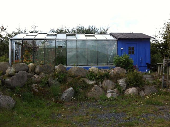 Växthusrummet/ the greenhouseroom - Skräddaröd - Houten huisje