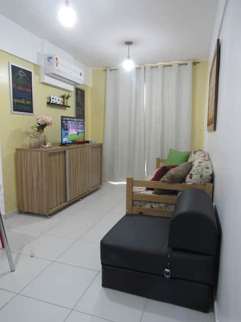 FLAT Smart Residence - 600m do SHOPPING RIO POTY