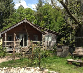 Sika Lodge,Forest eco cabin. 3 night minimum - Wareham - Chatka