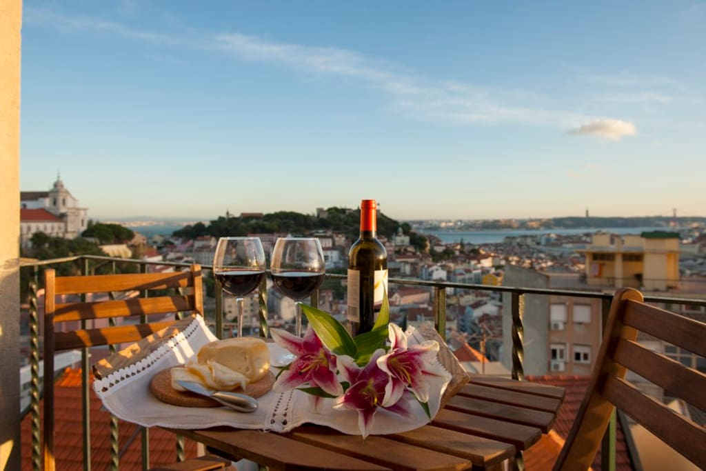 NEW Best view of Lisbon 3 - Apartments for Rent in Lisbon ...
