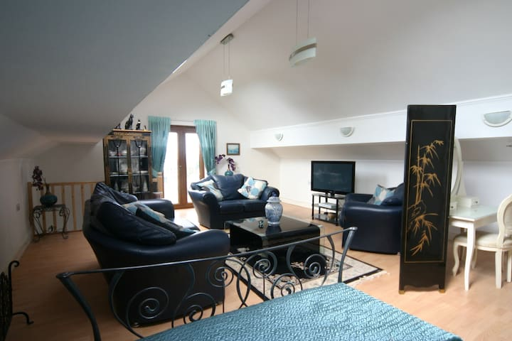 Superb Loft Apartment, Llanrhidian, Gower - Llanrhidian - Apartment