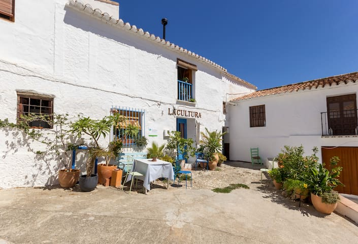 Malaga Pueblo, for Art lovers. Small pool.Kitchen - Cútar - Casa