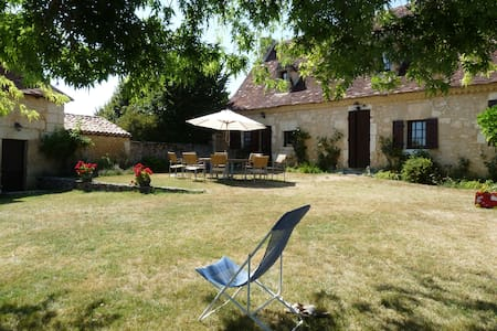 Belle périgourdine avec piscine privée et jardin - Saint-Martin-des-Combes - Hus