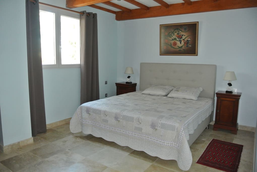 Bed and breakfast au coeur de la camargue villas louer arles provence alpes c te d 39 azur for Chambre avec lit king size