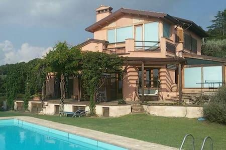 Casa dei 5 Sensi -  Trasimeno view - San Feliciano - Daire