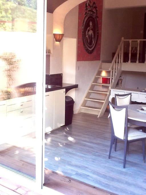 Aix centre jolie maison jardin la maison de tao h user - Maison jardin toulouse aixen provence ...