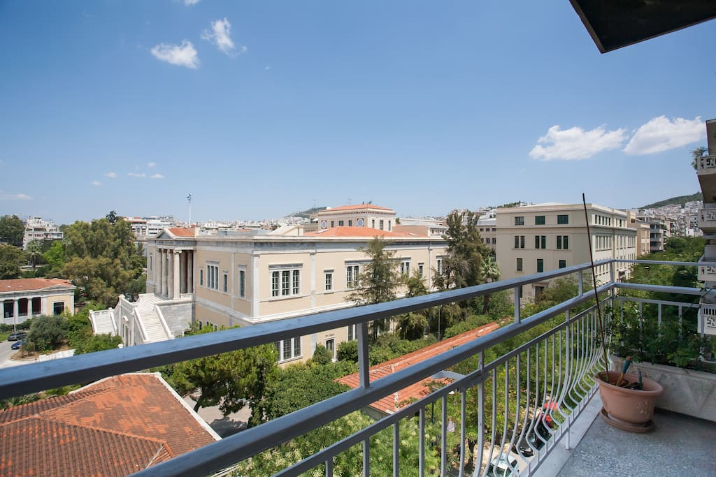 A view of the University and the Archeological museum is inspiring!