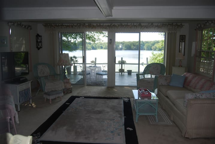 Boston Area Lakefront Cottage - Billerica - Rumah