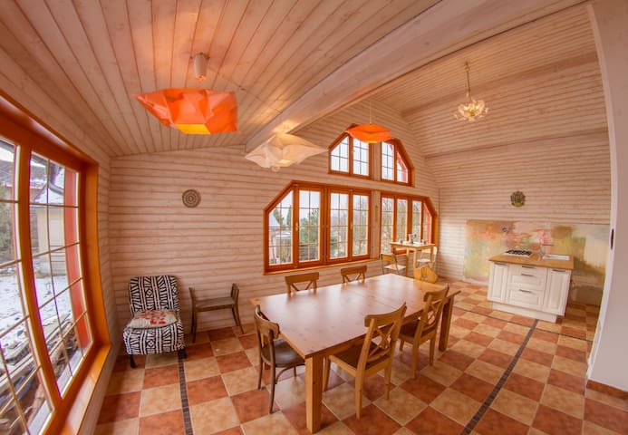 *BIG Family Cottage, Ski, Mountains - Vysoké nad Jizerou