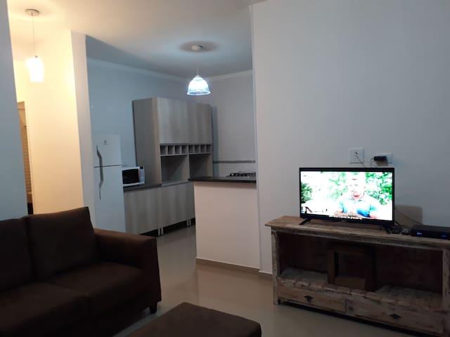 Apartamento 2 Novo em bairro nobre de Atibaia.