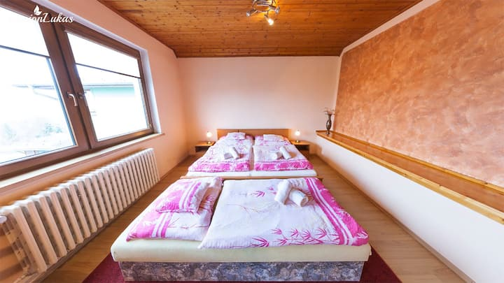 Pension Lukas Luxus Room with Beutifull View