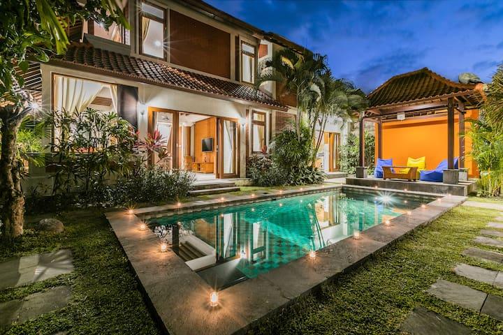 Listien Luxury Villa 3BR, only 5 min from beach