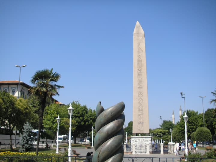 The Hippodrome & remaining monuments