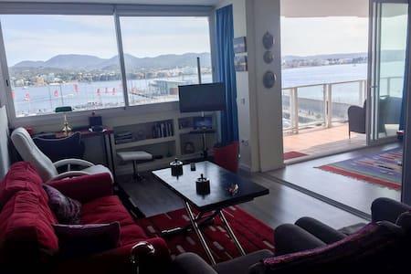 Apartamento con espectaculares vistas al mar - Sant Antoni de Portmany - Apartament