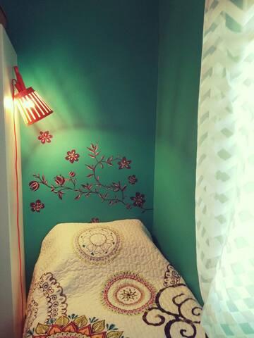 Your bedroom !