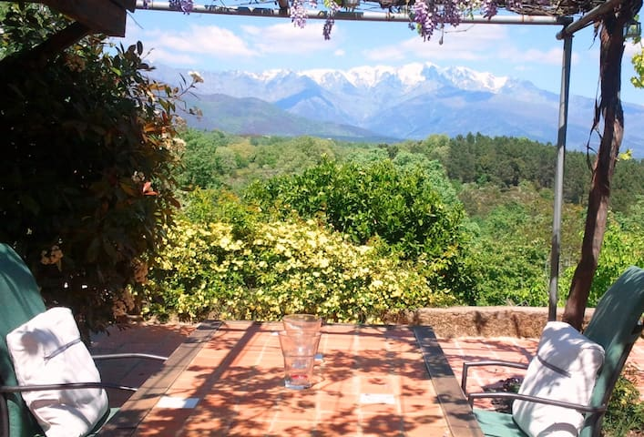 Charming Cottage + Incredible view - Villanueva de la Vera - Casa