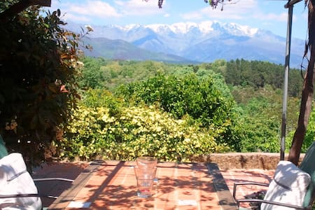 Charming Cottage + Incredible view - Villanueva de la Vera - Ház