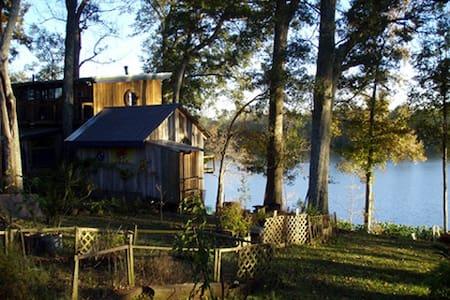 Lake/Bayou Sanctuary Cathedral CAMP Cottage (room) - Lafayette - Cabaña