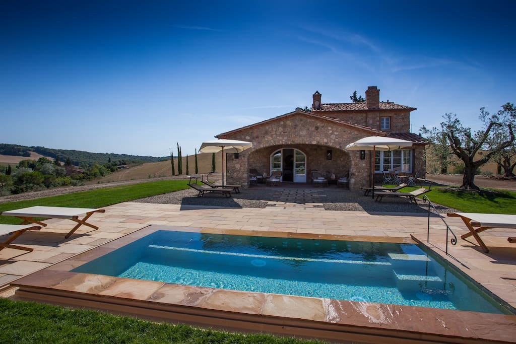 villa la salina ville in affitto a bibbona toscana italia. Black Bedroom Furniture Sets. Home Design Ideas