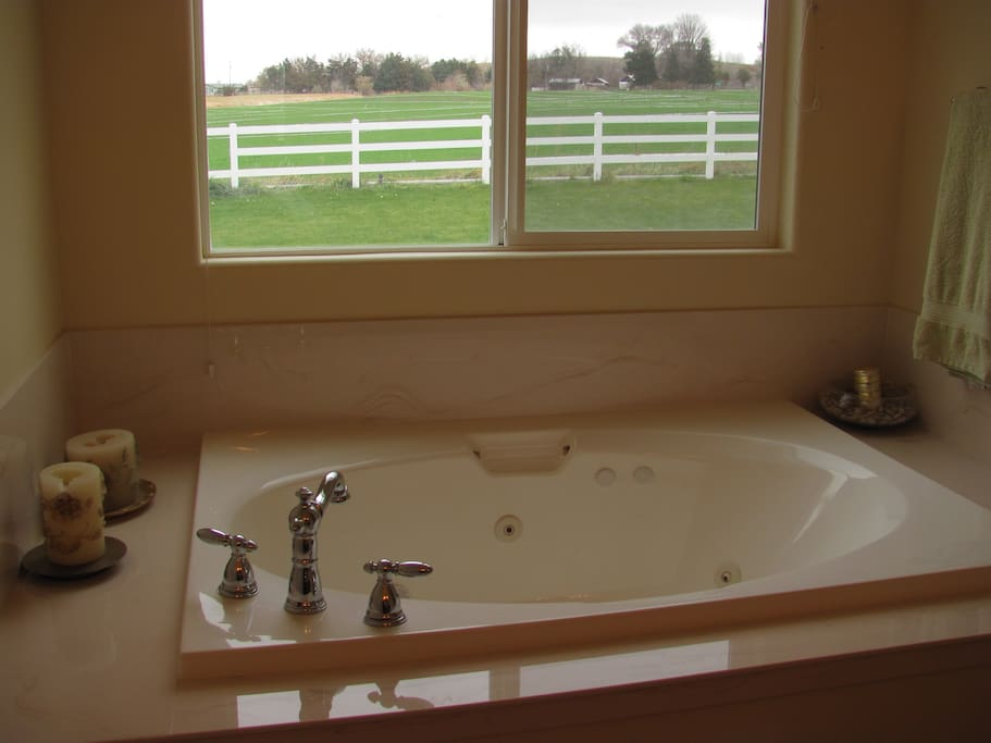 Whirlpool Spa Tub in this Suite!
