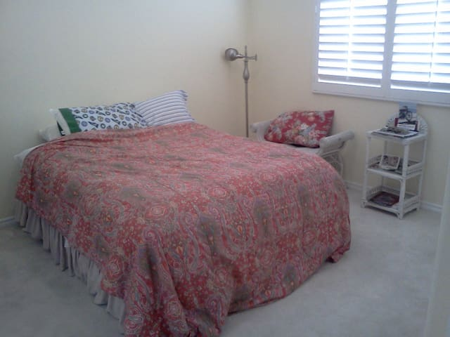 Great room next to the beach!!