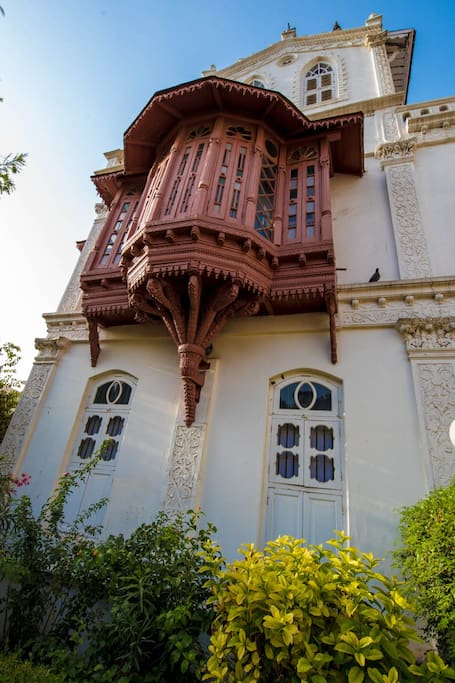 The Jharokha- Bay window