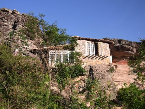 Cave in Igatu Chapada Diamantina BA