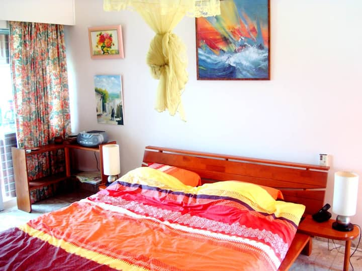 Location studio dans une villa