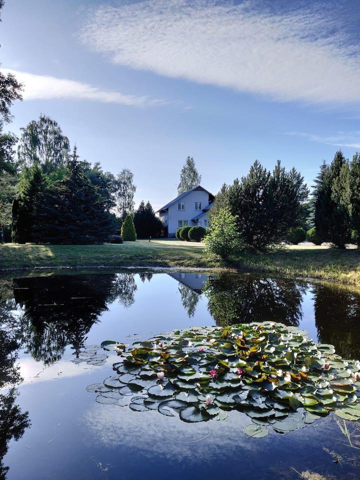 Calm Nature Oasis close to Kaunas city