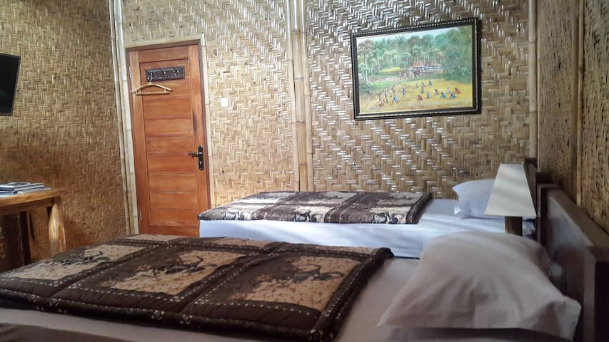 Unique Room for 2 in Yogyakarta!
