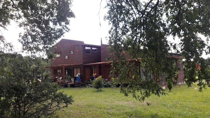 Hermosa casa completa en villarrica