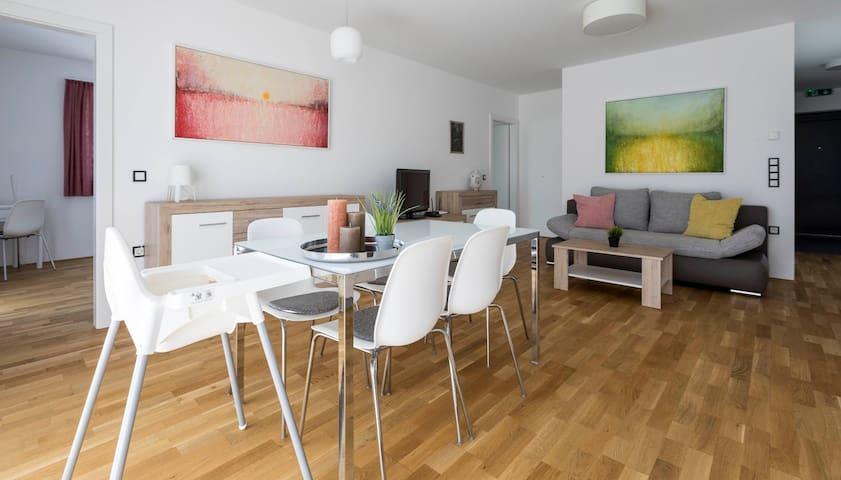 Barrierfree 3-room-flat TOP4 in Salzburg