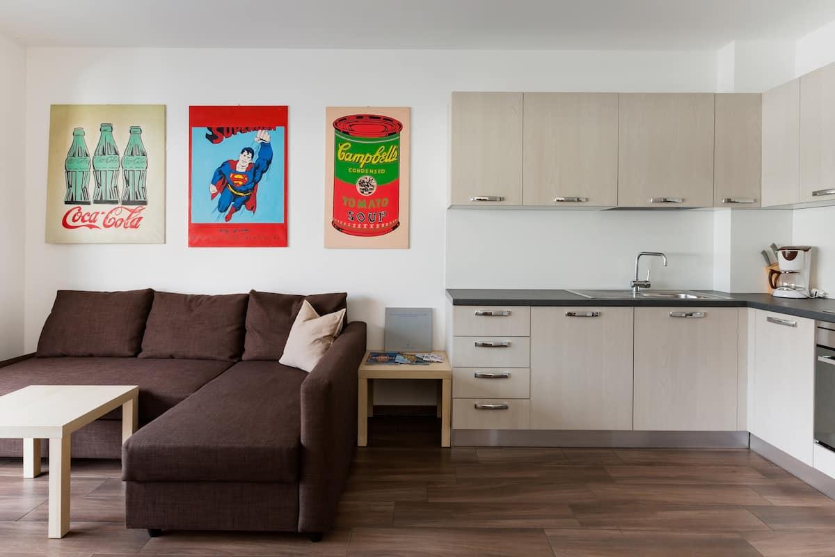 Wohnung mit viel Kunst am Kronplatz in Bruneck/Brunico