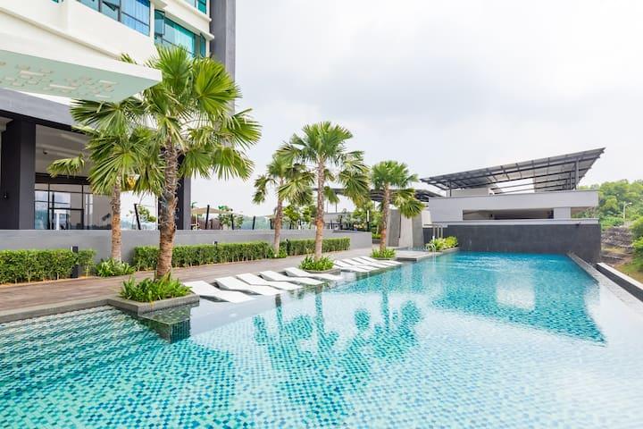 Infinity Pool Homestay @ Kajang City Center - Kajang - Apartment