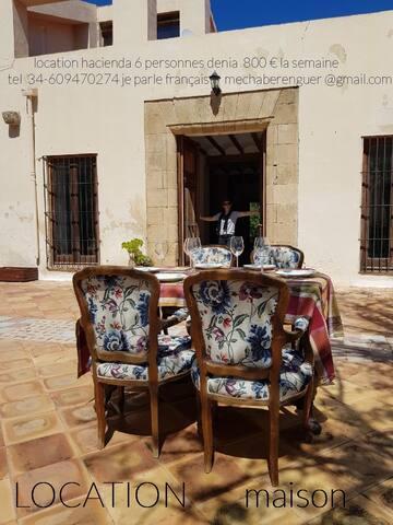 Auténtica casa mediterránea