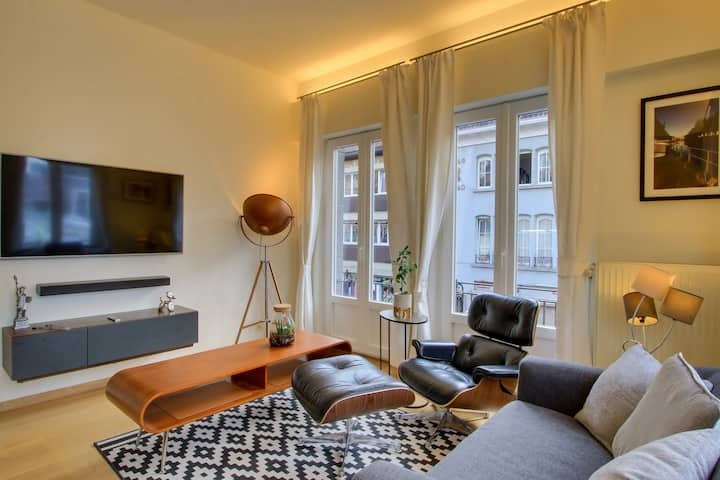 Heljy: Renovated  apt of 94m2 with a terrace